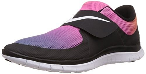 sale retailer 58b19 850a1 ... nike free socfly sd mens trainers 724766 sneakers shoes black white  pink flash yellow 005