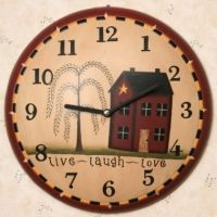 Wall Clock - Live, Laugh, Love