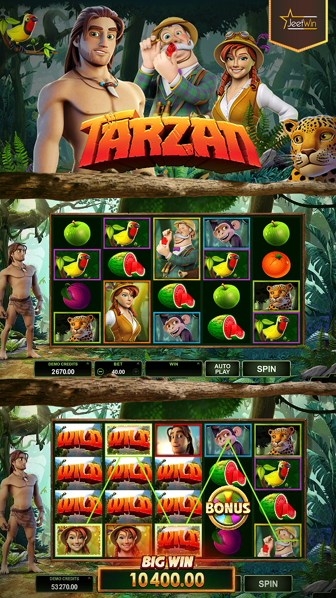 Spiele Jungle Adventure - Video Slots Online