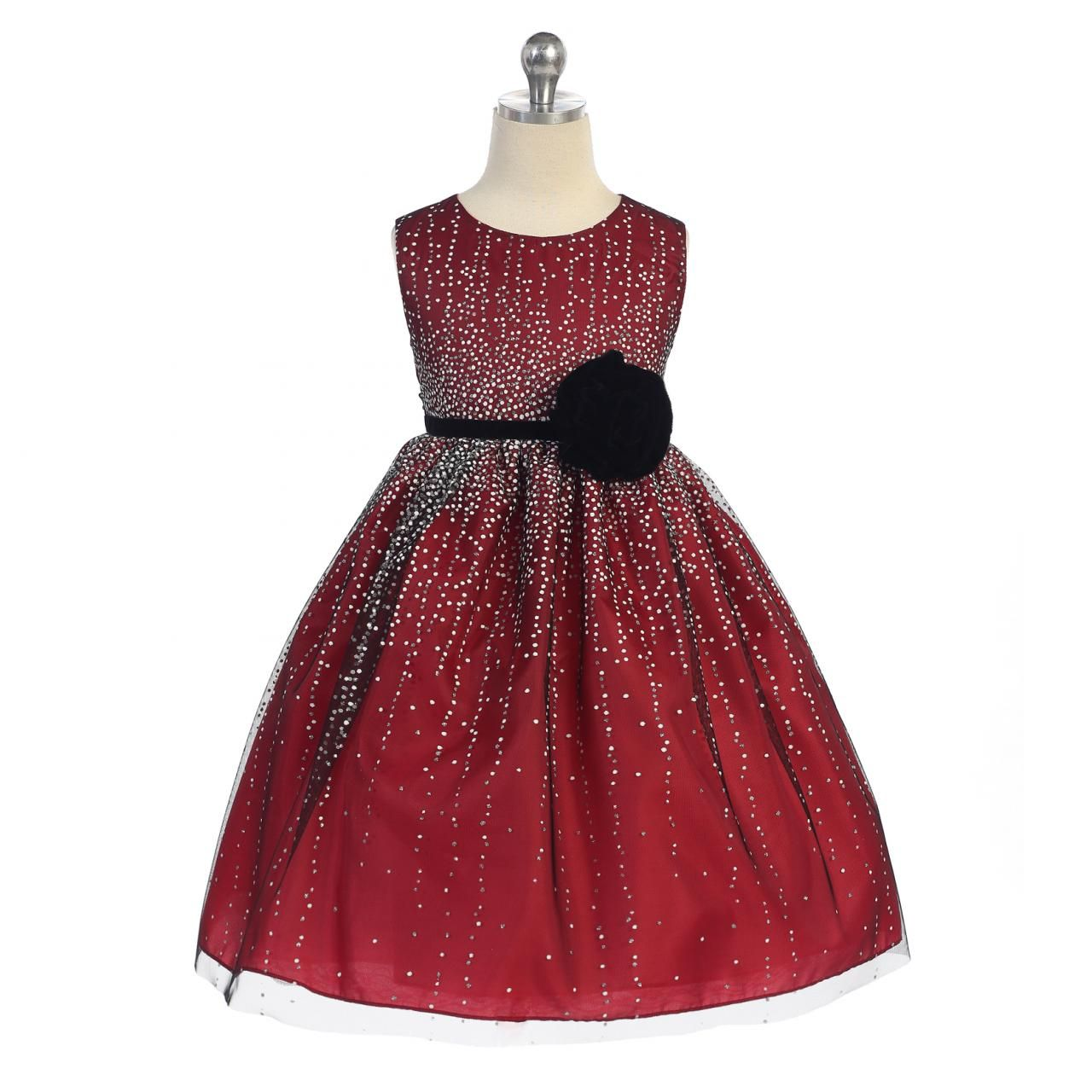 Toddler Girl Christmas Dresses | jewerly Couture ❤ Marie Evans ...