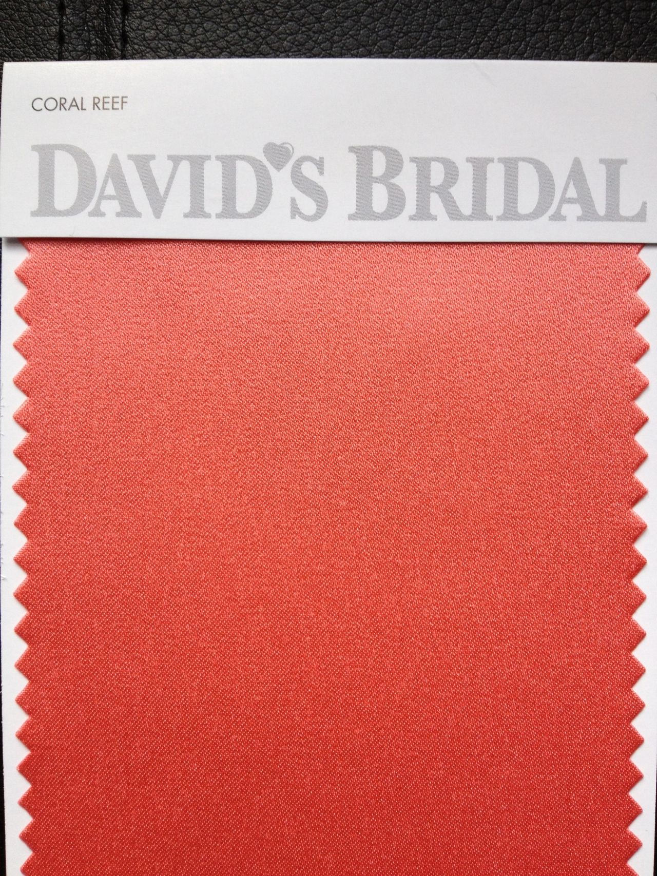 Coral Reef color swatch - David\'s Bridal | Glam Squad | Pinterest ...