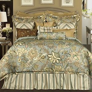 Rose Tree Verona 4 Piece Comforter Set Queen At Hsn Com Comforter Sets Queen Comforter Sets Stylish Beds