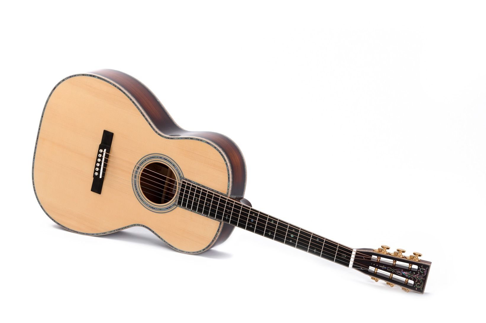 S000b 45vs Limited Sigma Guitars Guitar Acoustic Black Ebony