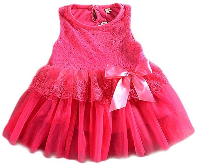 Urparcel Baby Girls Floral Lace Dress (5 Styles) $6.31 (amazon.com)