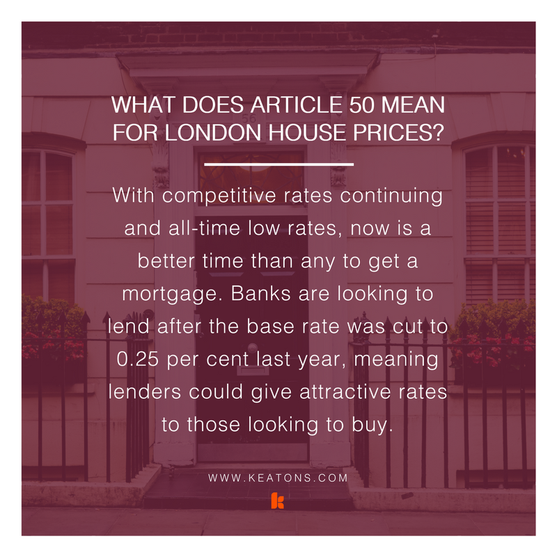 what does article 50 mean for london house prices we explain it in