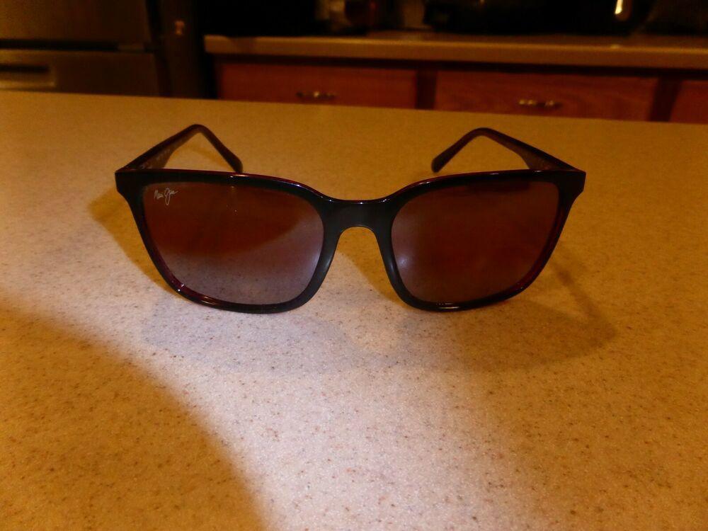 Maui jim mj75602r wild coast polarized sunglasses 56 19