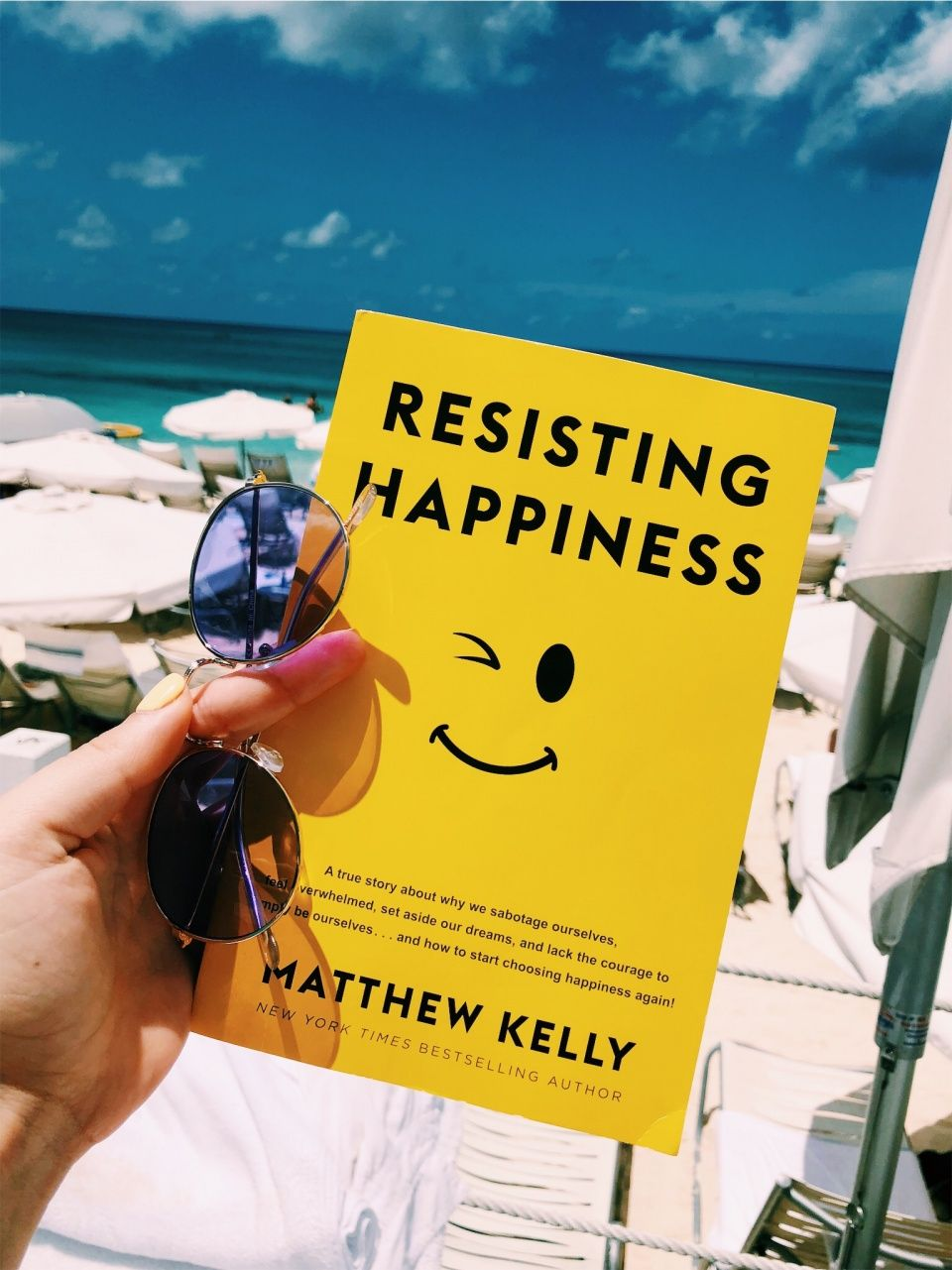 Book Resisting happiness
