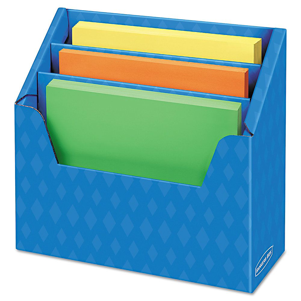 Bankers box 60 recycled angled folder