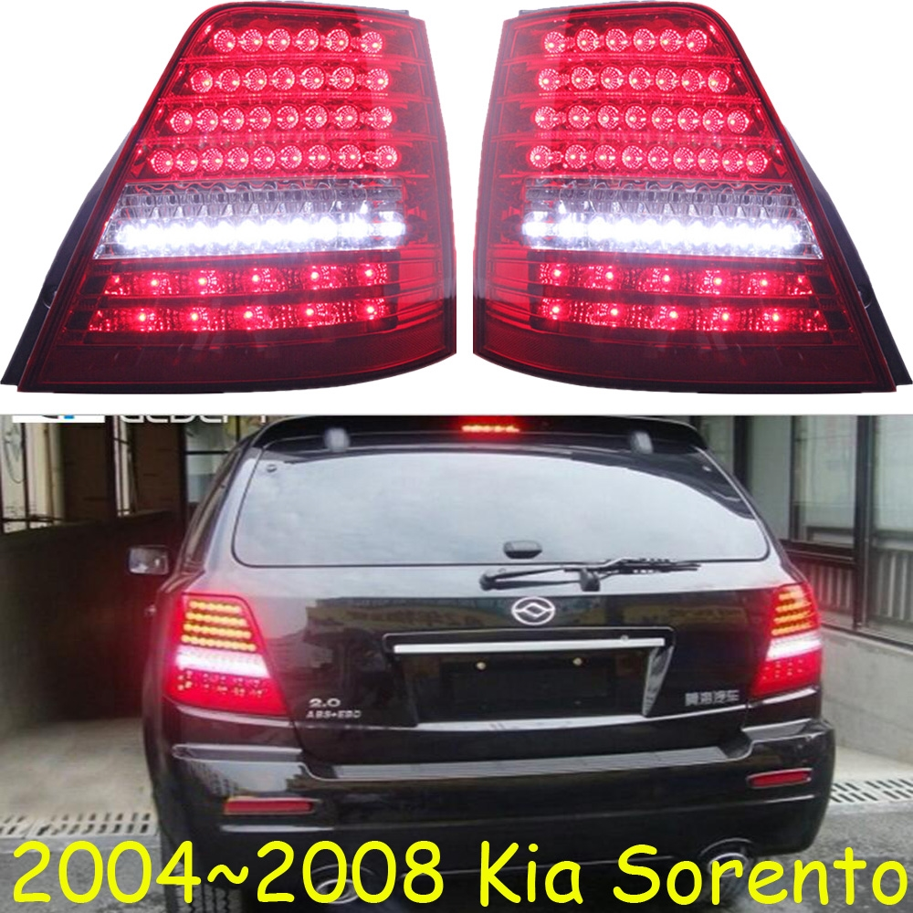 334.88$  Buy now - http://alixnr.worldwells.pw/go.php?t=32717292681 - KlA Sorento taillight,LED,SUV,2004~2008,Free ship!2pcs/set,Sorento rear light,Sorento,cerato,SportageR