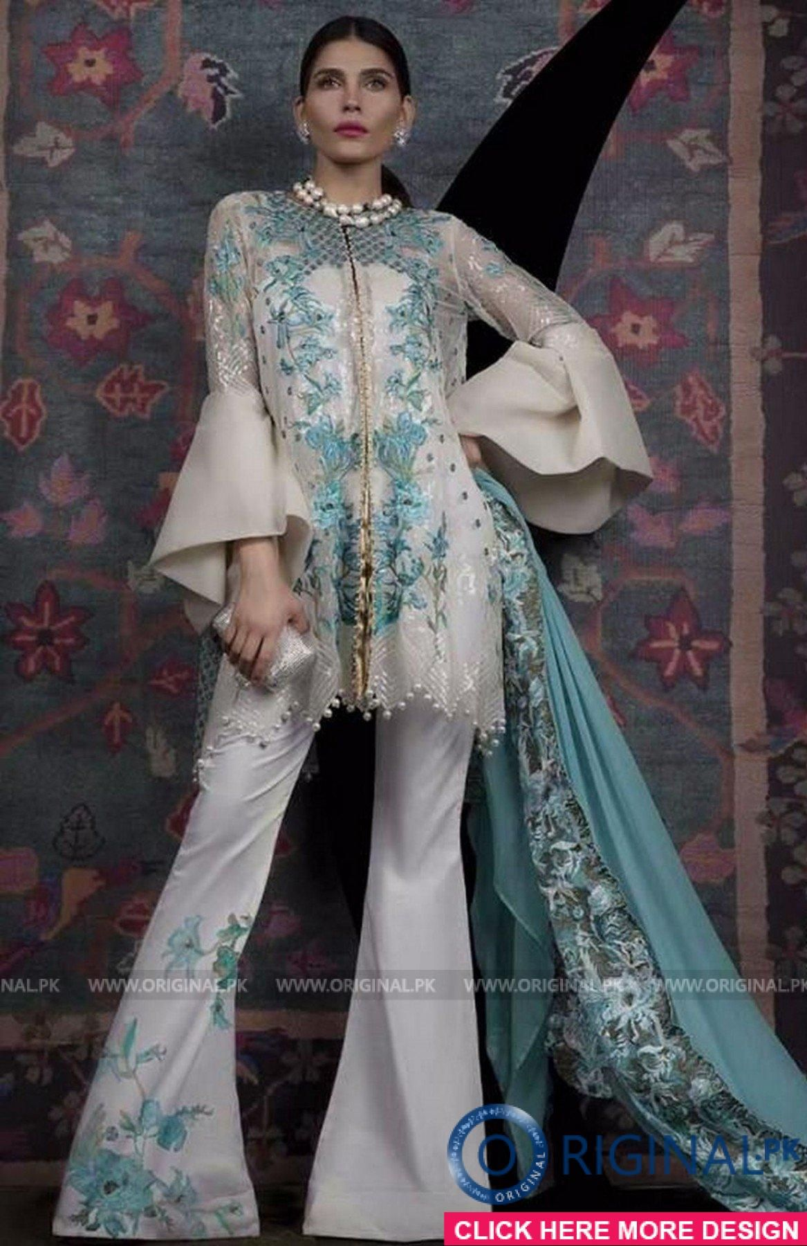 Sana Safinaz EID17-2B Luxury Collection 2017 - Original Online ...