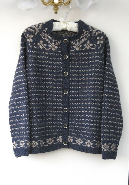 Ravelry: Fair Isle Cardigan pattern by Martin Storey | Norwegian ...