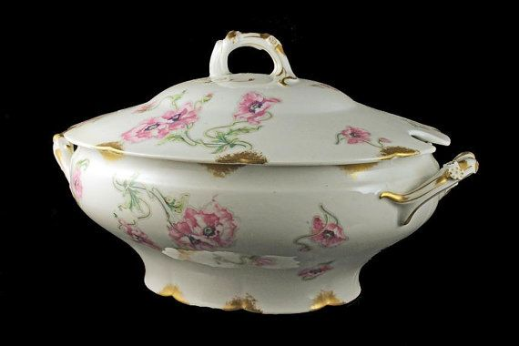 Antique Soup Tureen Theodore Haviland by MountainAireVintage