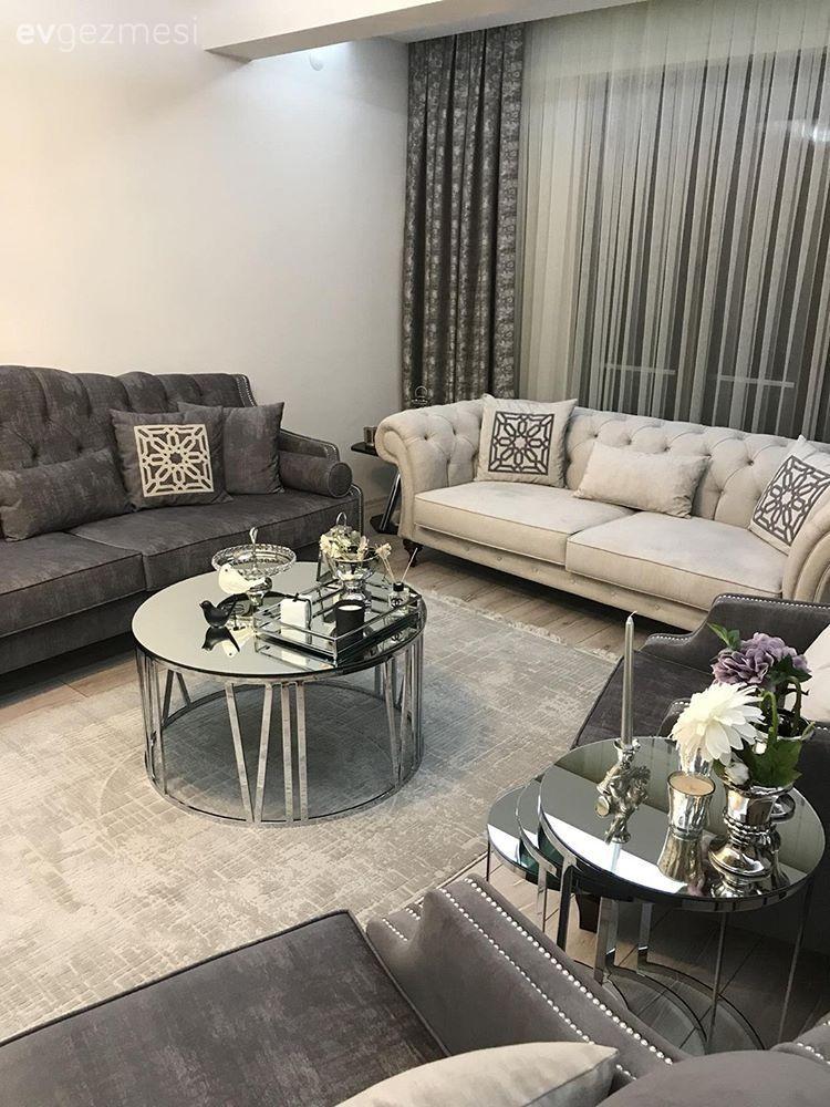 Salon dekorasyonu i in lham verecek evler neriler dekorasyon wohnzimmer wohnzimmer - Wohnzimmer inspiration ...