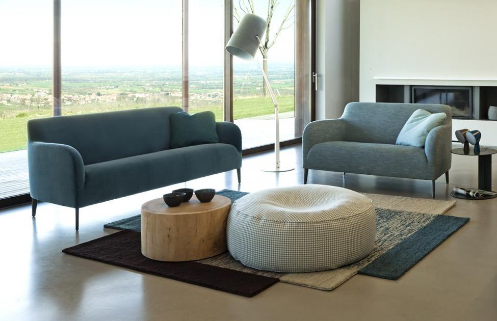 Kleine Sofas für kleine Räume - Moderne und gemütliche Modelle - sofa fur kleine wohnzimmer
