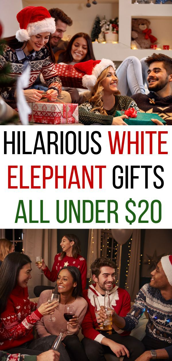 Funny white elephant gift ideas that are hilarious and cheap These are the best white elephant gifts sure to crack everyone up at your holiday gift exchange All gifts und...