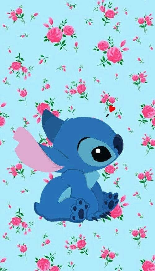 Wallpapers Tumblr Iphone Lilo Stitch Screen Wallpaper Phone Backgrounds Disney Stitches Phones Diys