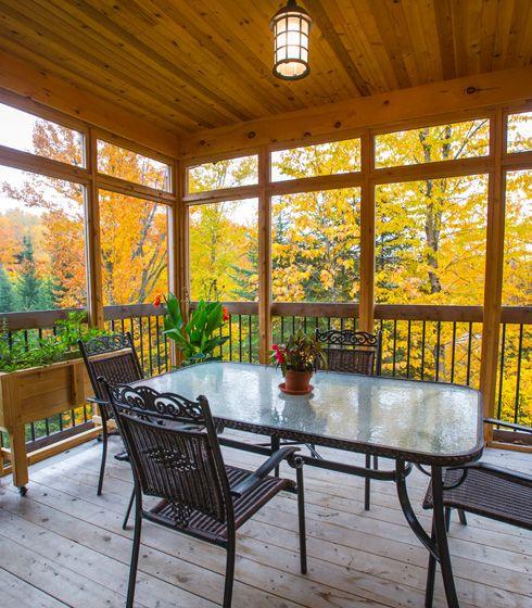 lac l on cohabitations bor ales veranda pinterest leon moustiquaire et terrasses. Black Bedroom Furniture Sets. Home Design Ideas