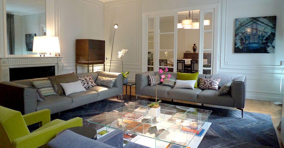 Appartement au pied de la tour eiffel architecte dintérieur paris réalisation agence