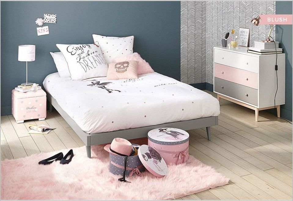 Chambre Ado Deco Styles Fille In 2020 Blue Girls Rooms Bedroom