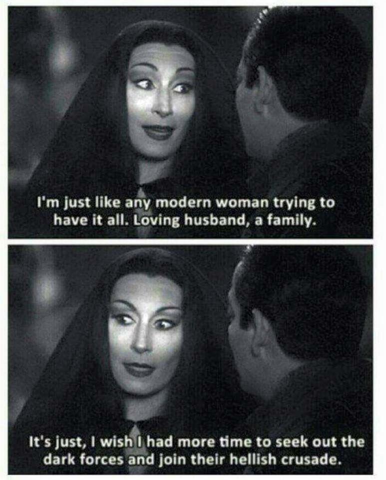 Oh I Just Love Her Fall Fun Pinterest Adams Family Addams