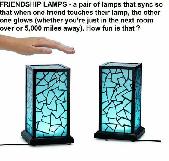 This Would Be So Good For Long Distance Relationships Cute Gifts For Girlfriend Girlfriend Gifts Friendship Lamps
