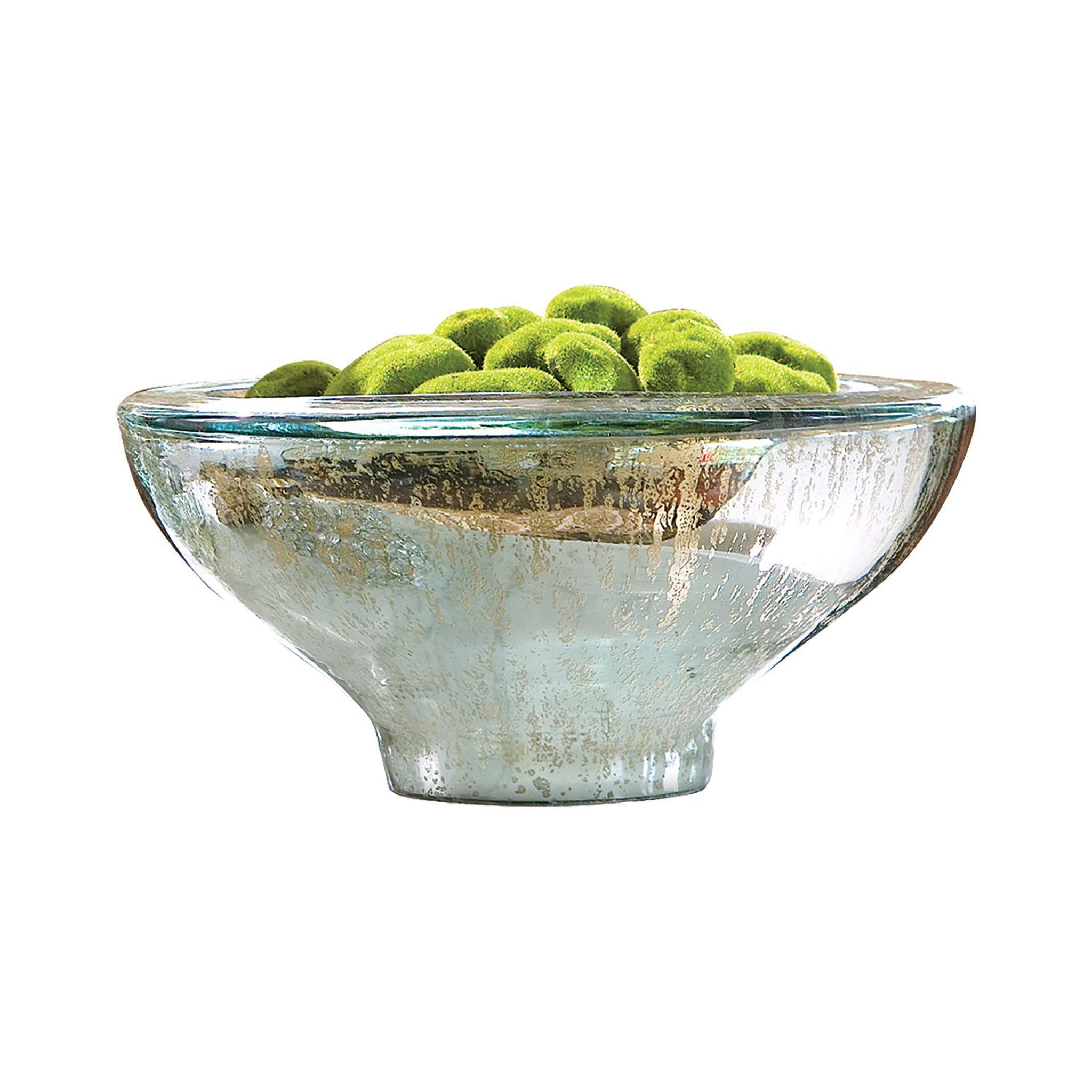 Aria Bowl Antique Silver