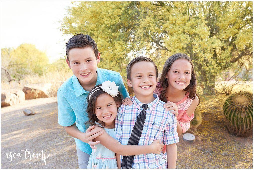 Family photos at riparian preserve family photographer