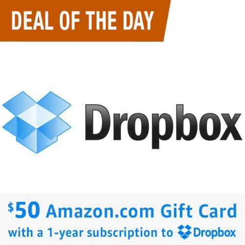 40 Off Dropbox Subscription W Free 25 Dell Gift Card Only 59 99 Gift Card Cards Amazon Gift Cards