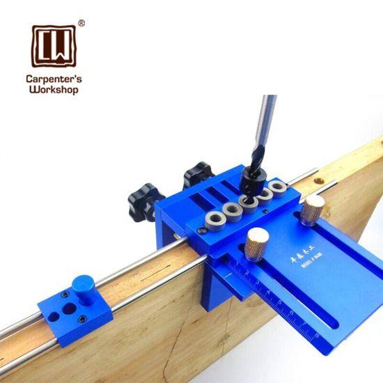 12 Types Woodworking Tool DIY Joinery High Precision Dowel Jigs Kit DIY Tool
