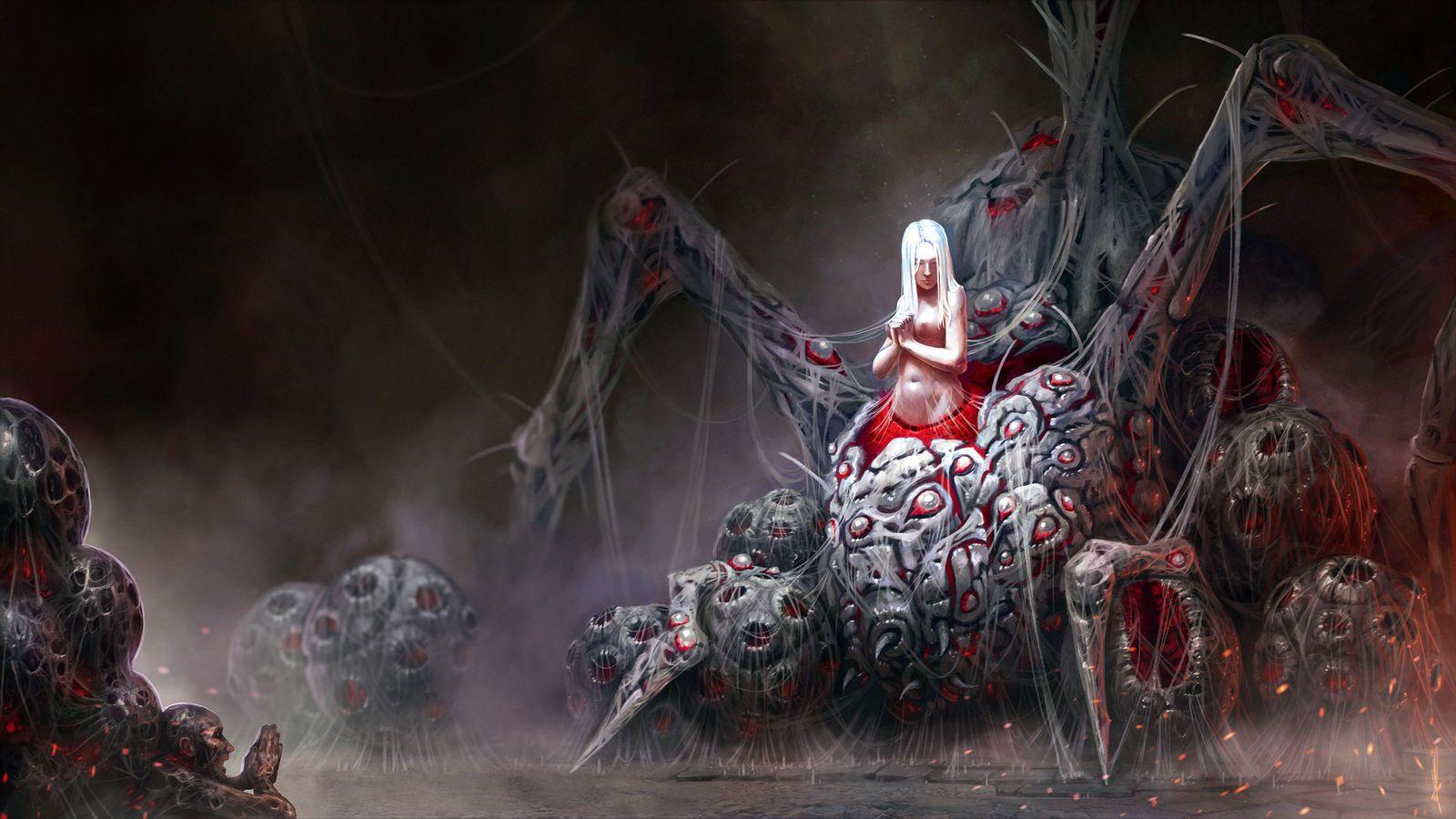 Fair Lady Dark Souls By Andwhatart Demon Souls Dark Souls Horror Art