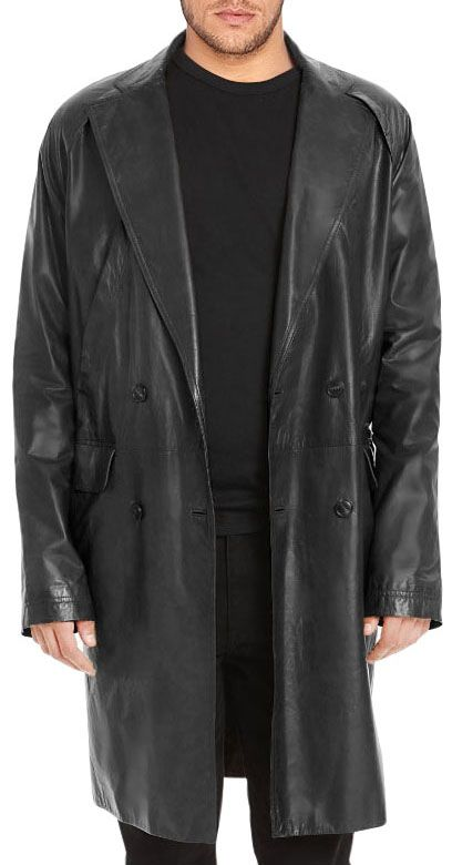 Mens Long Leather Coats - C0ZY | Leather Stuff | Pinterest | Coats ...
