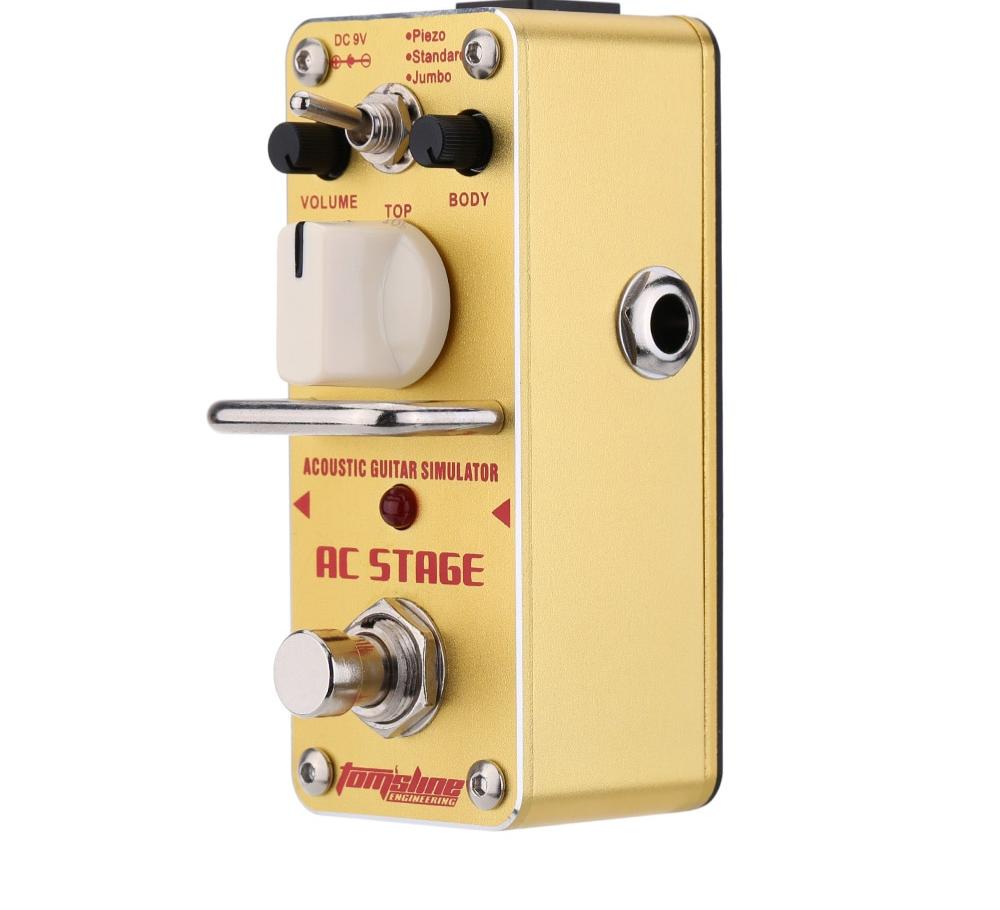 Best Mini Acoustic Guitar Simulator Electric Multi Effects Pedal Acoustic Guitar Acoustic Guitar
