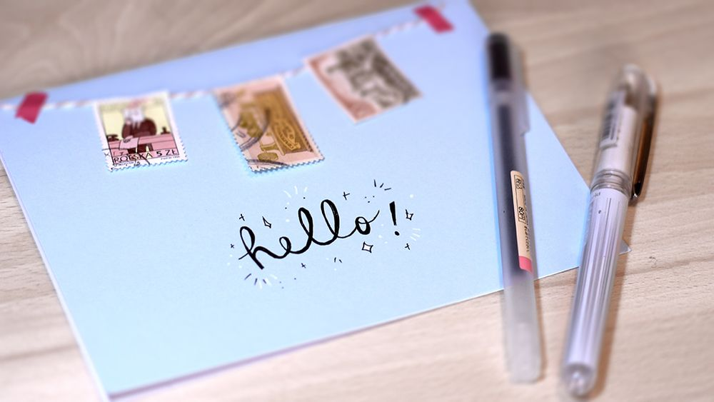 Tips For Writing A First Letter To A New Penpal  Snail Mail