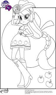 My Little Pony Human Coloring Pages Google Search My Little Pony Coloring Coloring Pages For Girls My Little Pony Applejack