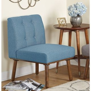 simple living playmate armless accent chair playmate armless accent