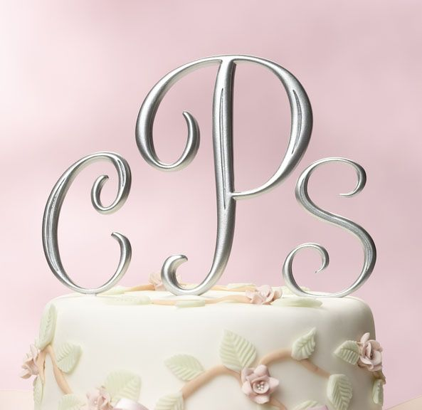 17 images about cake toppers on pinterest elegant wedding cakes monogram letters and custom wedding cake toppers