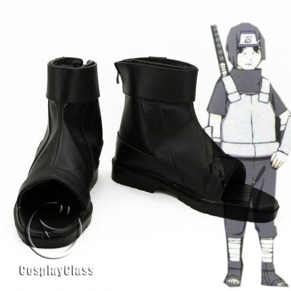 NARUTO Anime Uchiha Itachi Cosplay Shoes Boots Custom Made