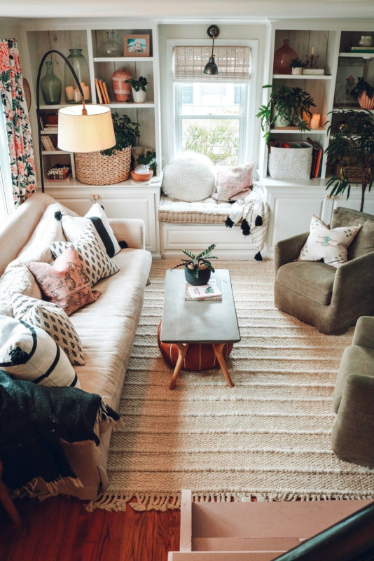 4 Design Lessons I Have Learned in My Home | Nesting With Grace | Often we are in such a rush to decorate and style a room that we don't take the time to invest in the right furniture develop our taste and style and learn how to use the space well! In this post I'm sharing 4 design lessons I've learned and how my style has evolved! ad #homedecor #eclecticstyle #investment #investment