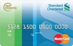 Standard chartered credit card apply online