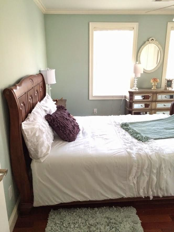 Shabby Chic Style With Dark Furniture Bedrooms Foursquare - Shabby chic bedroom with dark furniture