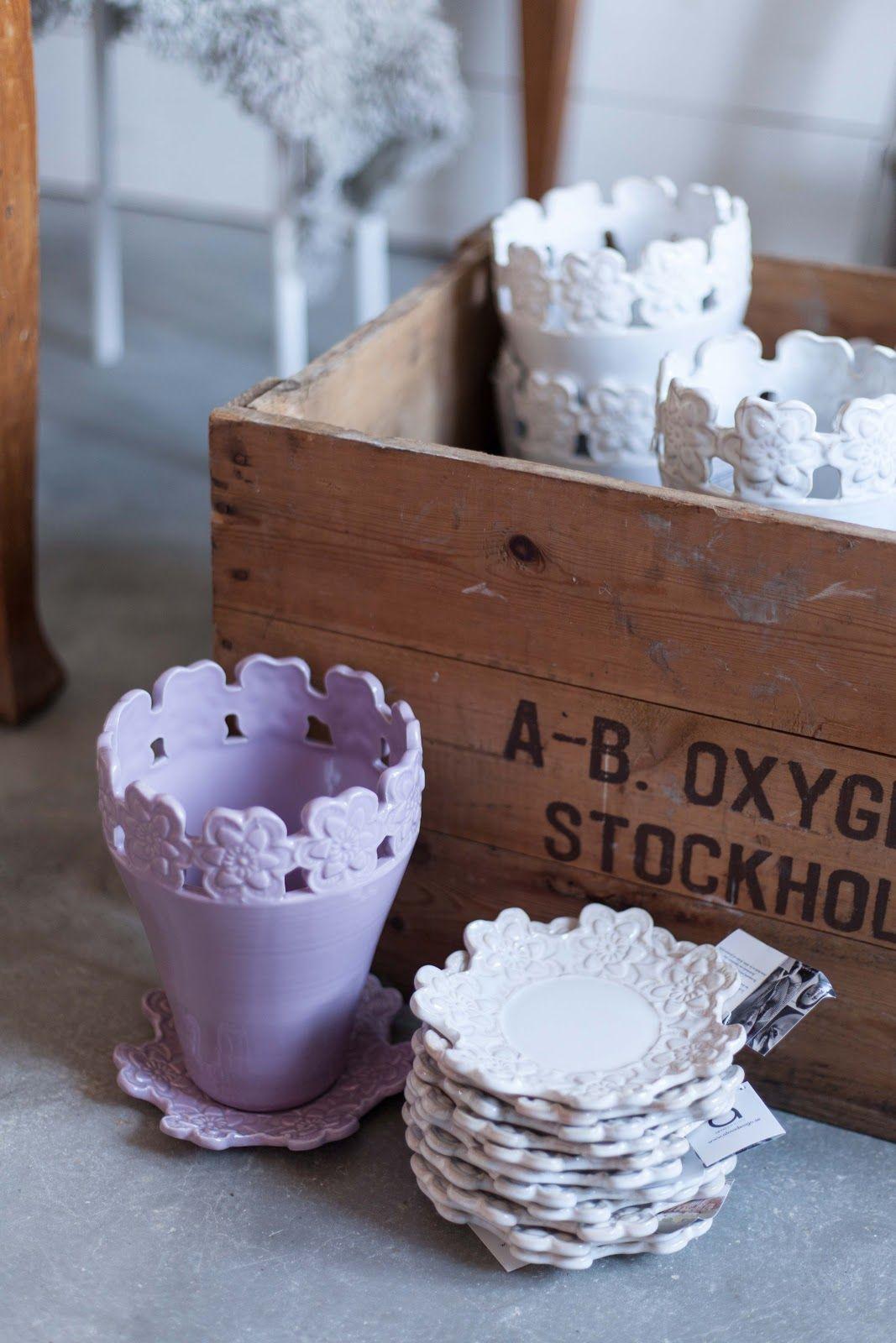 Fabulös inspiration Keramik