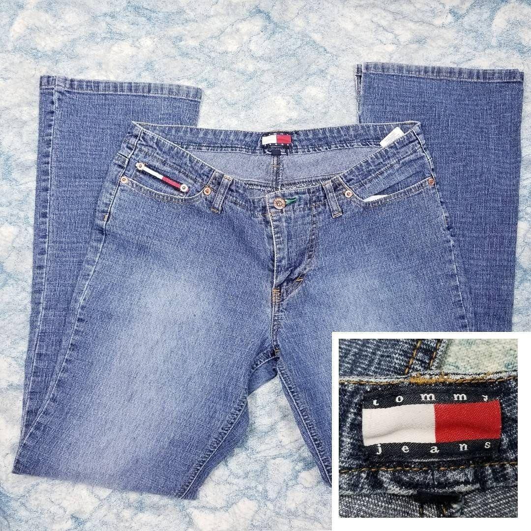 Vintage Tommy Hilfiger Wide Leg Jeans Vintage Tommy Jeans
