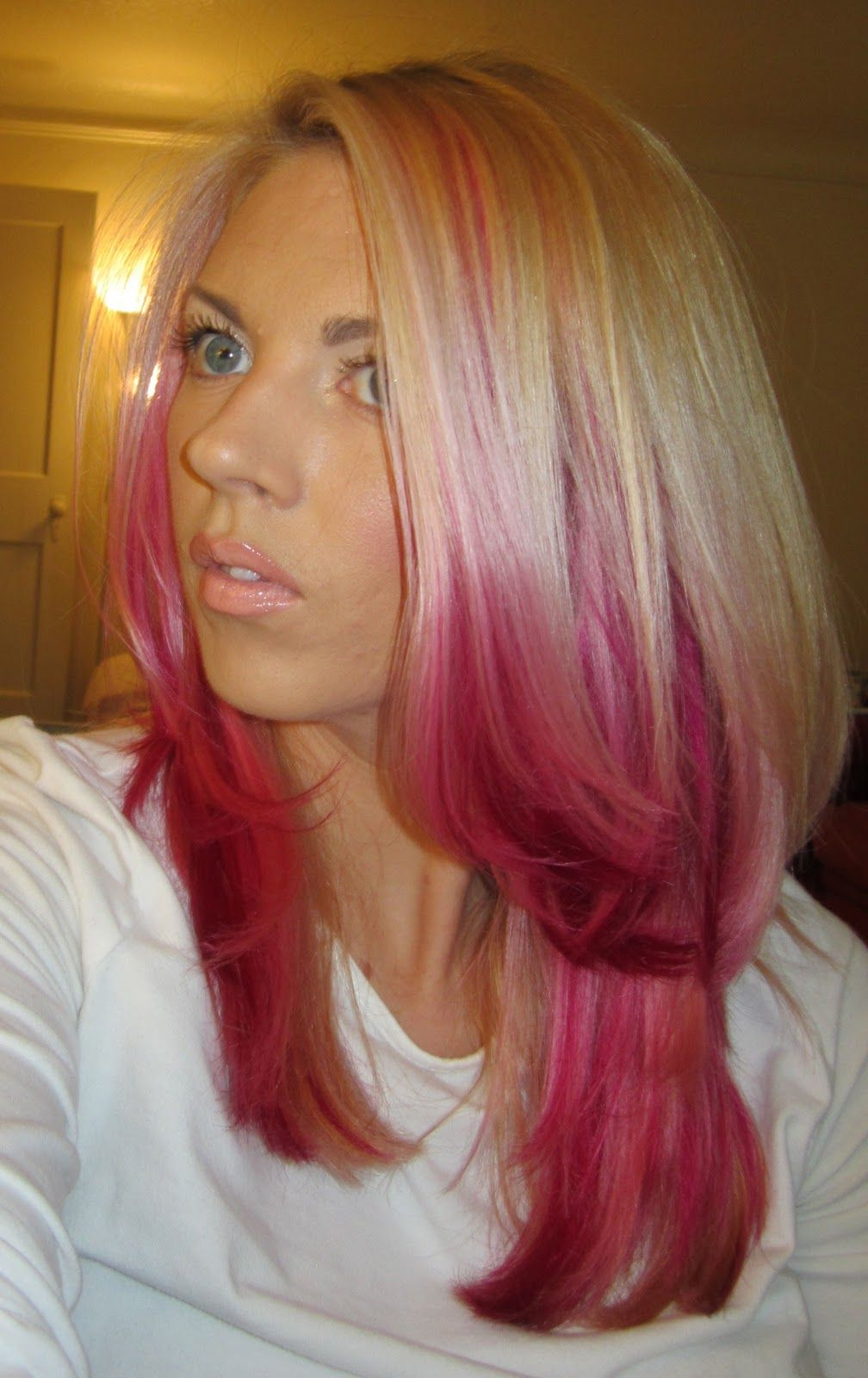 Sam Schuerman How To Dye Your Hair Pink Creative Hair Color Hot Pink Hair Cool Hair Color