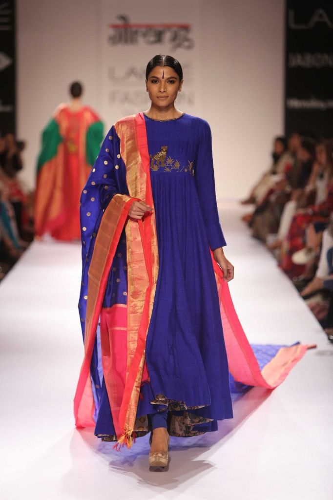 c33d023e63 Gaurang Shah for Lakmé Fashion Week Winter/Festive 2014 | Party Wear ...