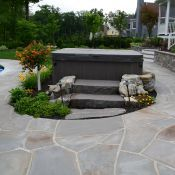 Landscape Masonary Supplies Featured Project Wyckoff Nj Decorative Gravel Backyard Design Patio Design