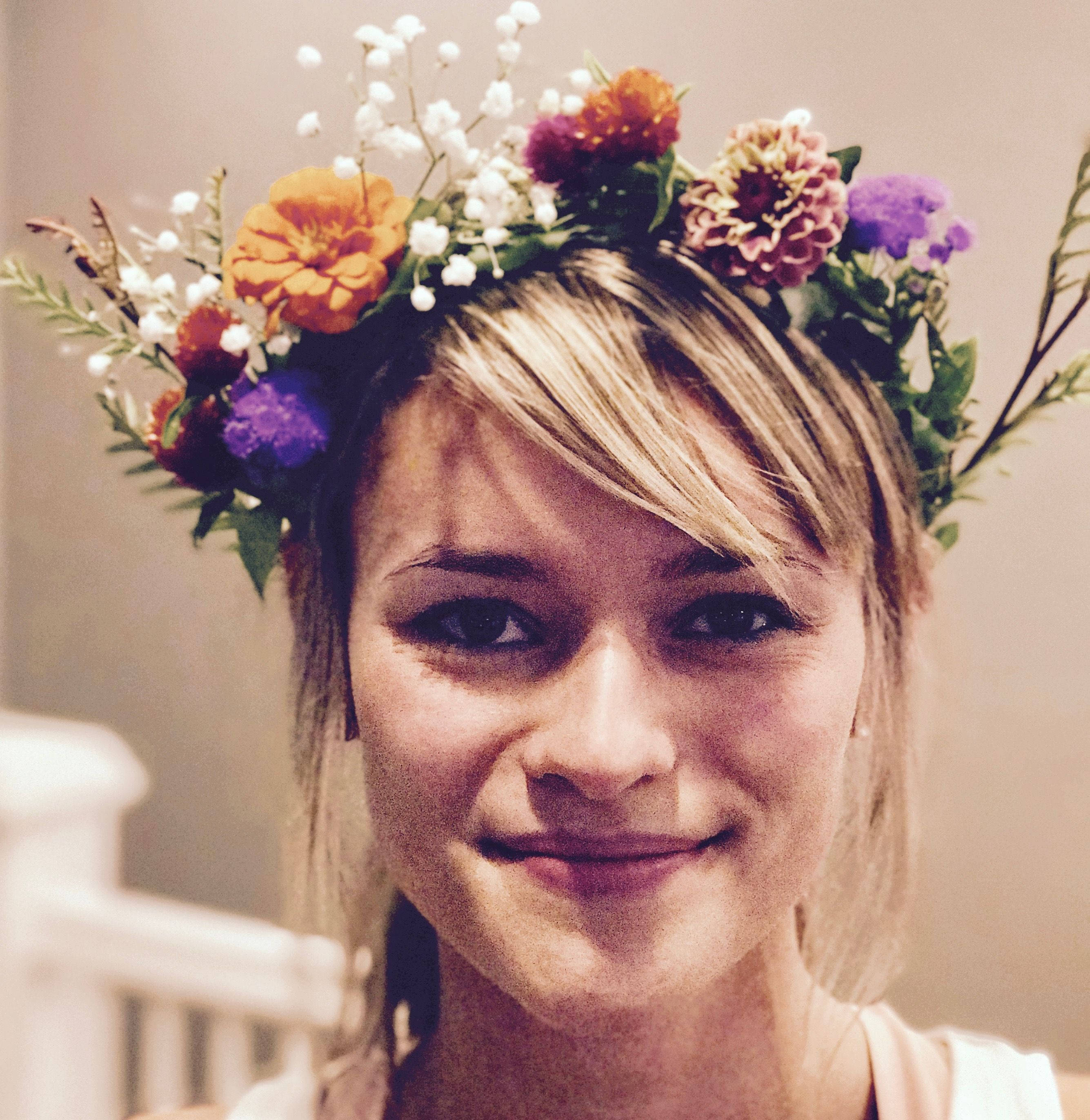 What to expect from a charleston bachelorette flower crown party boho flower crowns made from real flowers from local flower farmers izmirmasajfo