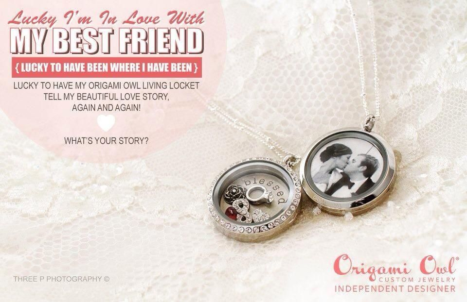 Tell your story with an Origami Owl living locket https://www.facebook.com/OrigamiOwlbyLisaEmminger?ref=hl