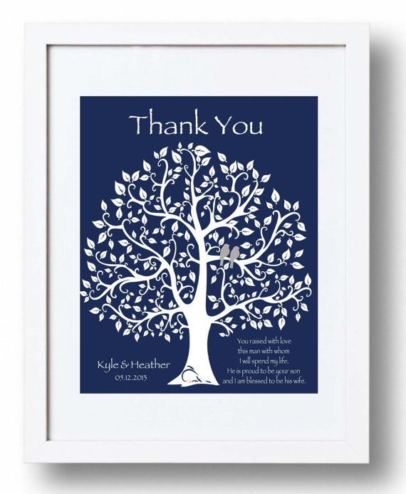 Wedding Gifts For Grooms Parents: Wedding Gift For Groom's Parents Future By