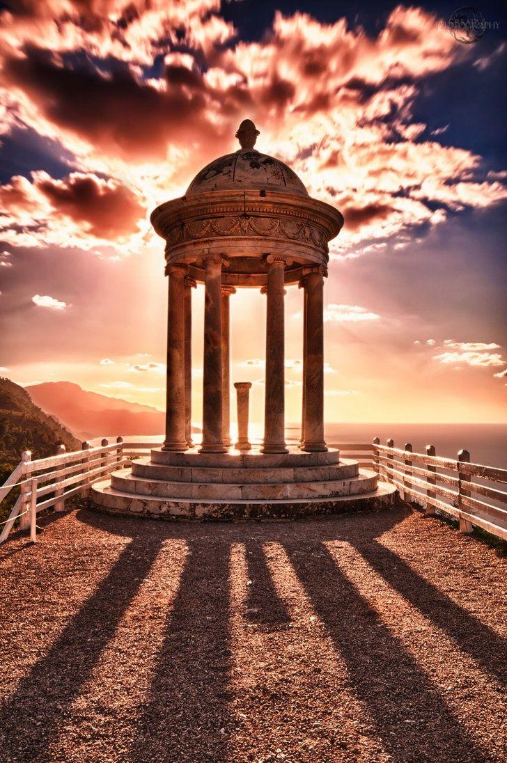 The island of Mallorca, Spain.