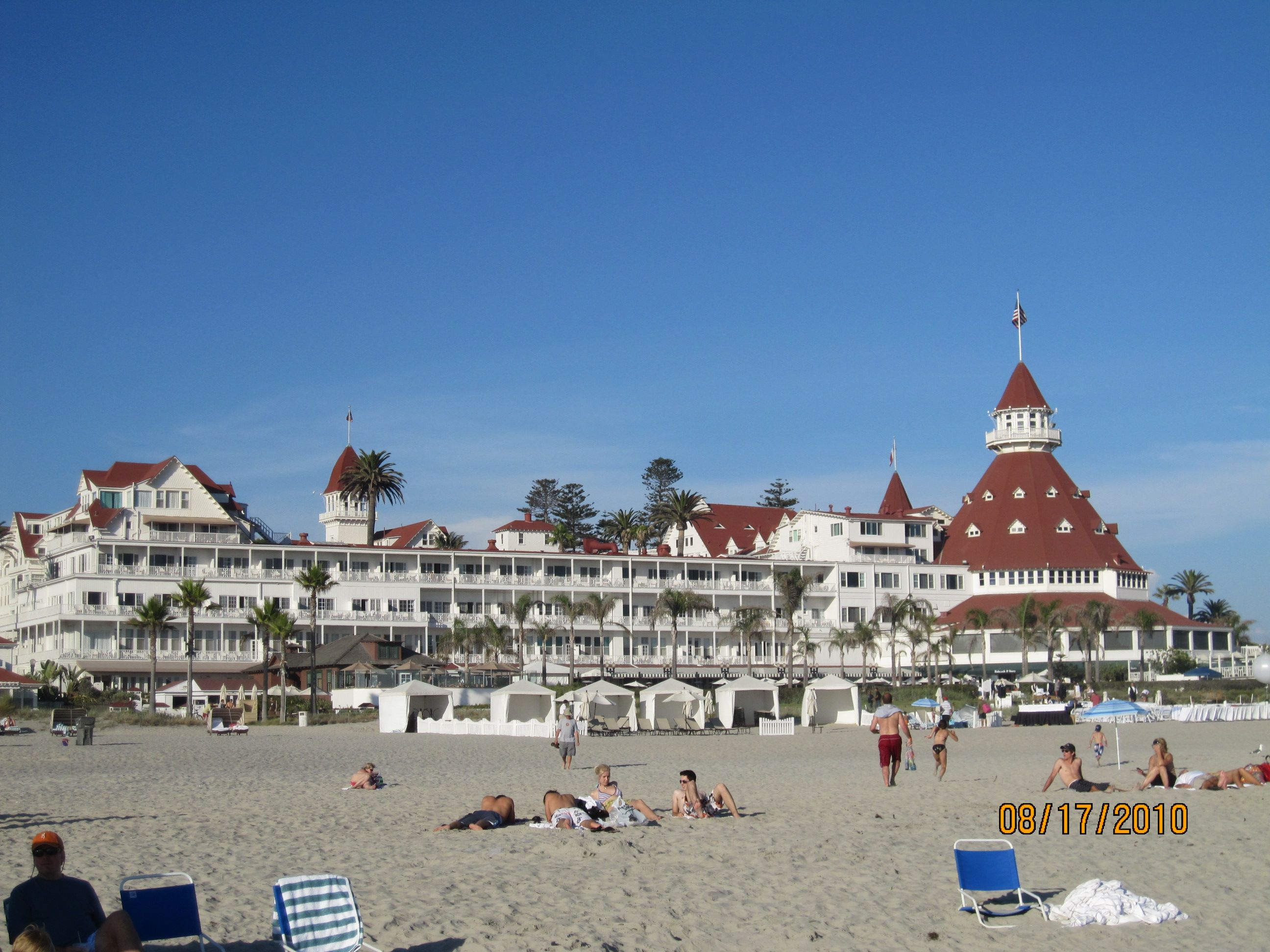 Coronado Beach We Visited This Lttle Town Close To San Go The Historic Hotel Del